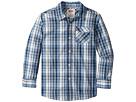 Levi's(r) Kids Long Sleeve One-Pocket Plaid Shirt (Big Kids)