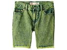 Levi's(r) Kids 511 Slim Fit Overdyed Color Denim Shorts (Big Kids)