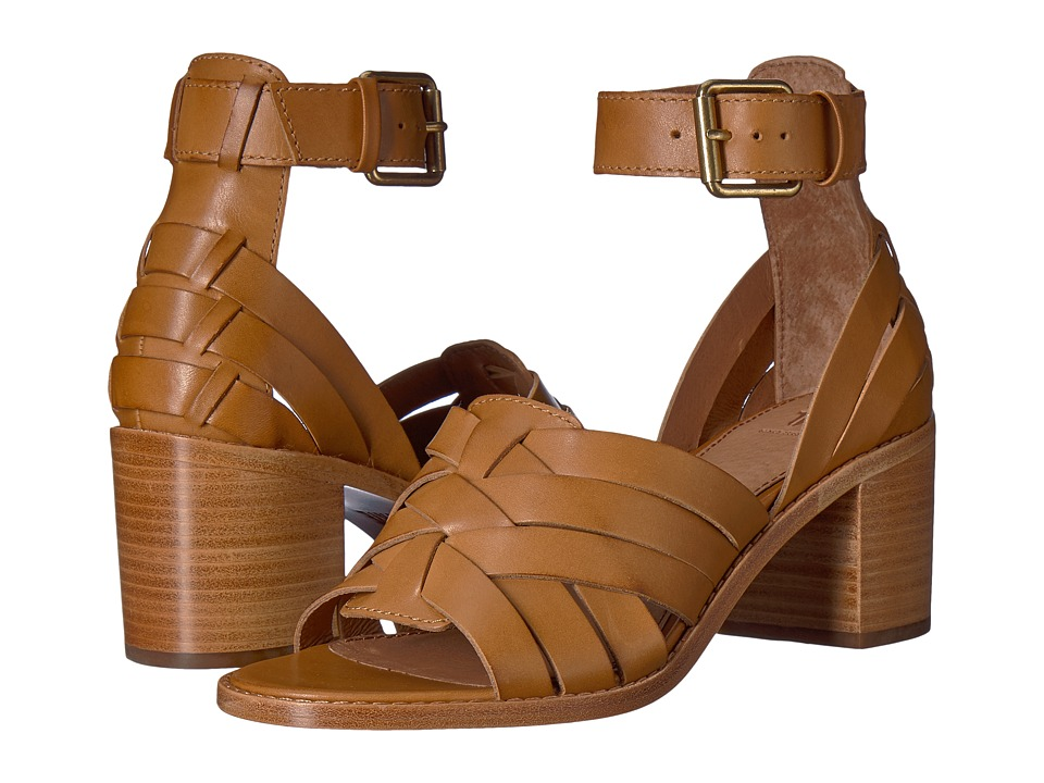 Frye Bianca Huarache Two-Piece (Tan) Sandals