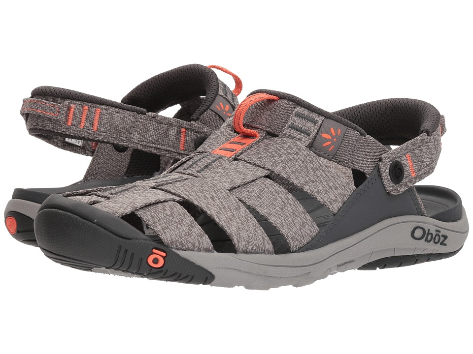Oboz Campster (Heather Gray/Coral) Women's Shoes