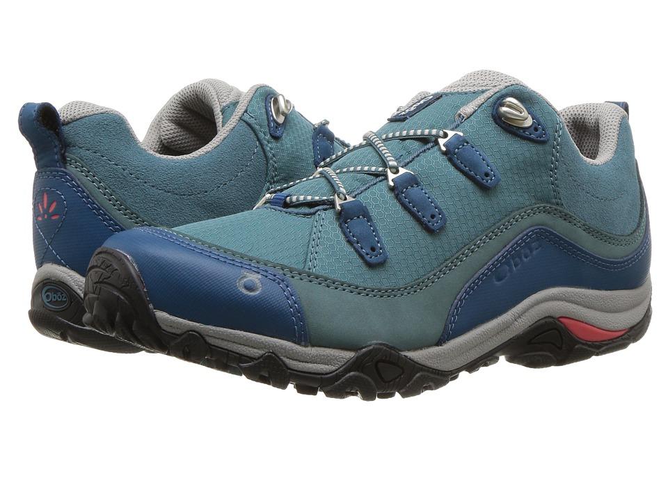 Oboz Juniper Low (Hydro/Cayenne) Women's Shoes