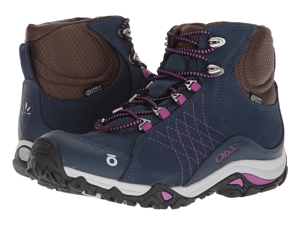 Oboz Sapphire Mid BDry (Huckleberry) Women's Shoes