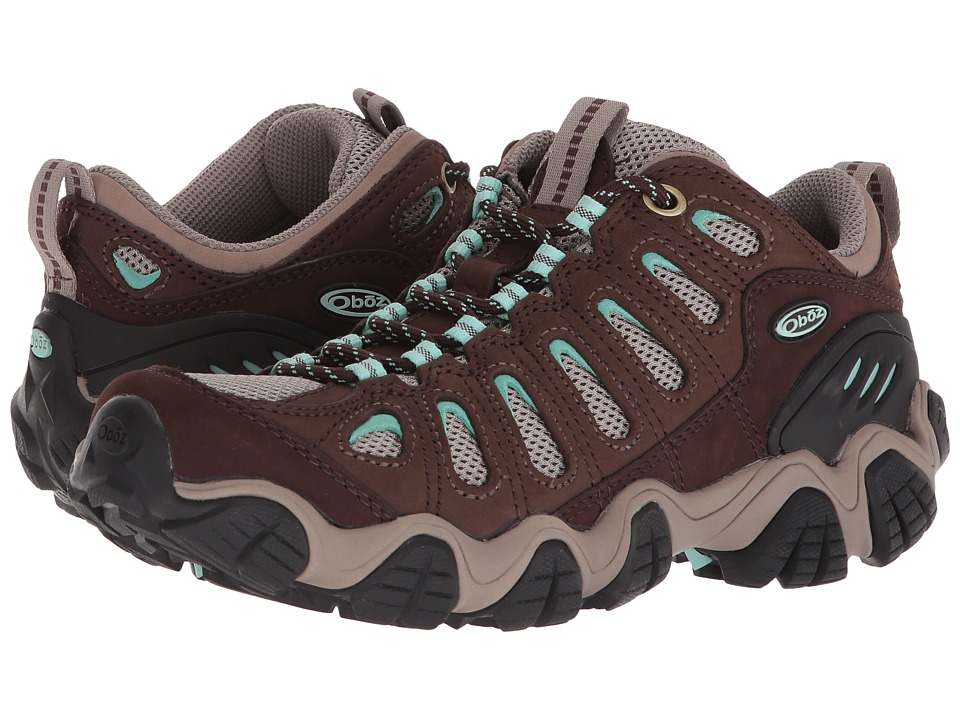 Oboz Sawtooth Low (Chestnut/Beach Glass) Women's Shoes