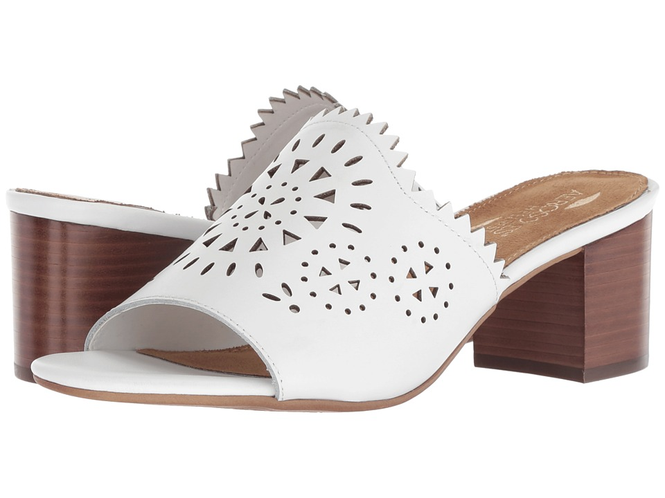 Aerosoles Midsummer (White Leather) Women's Shoes