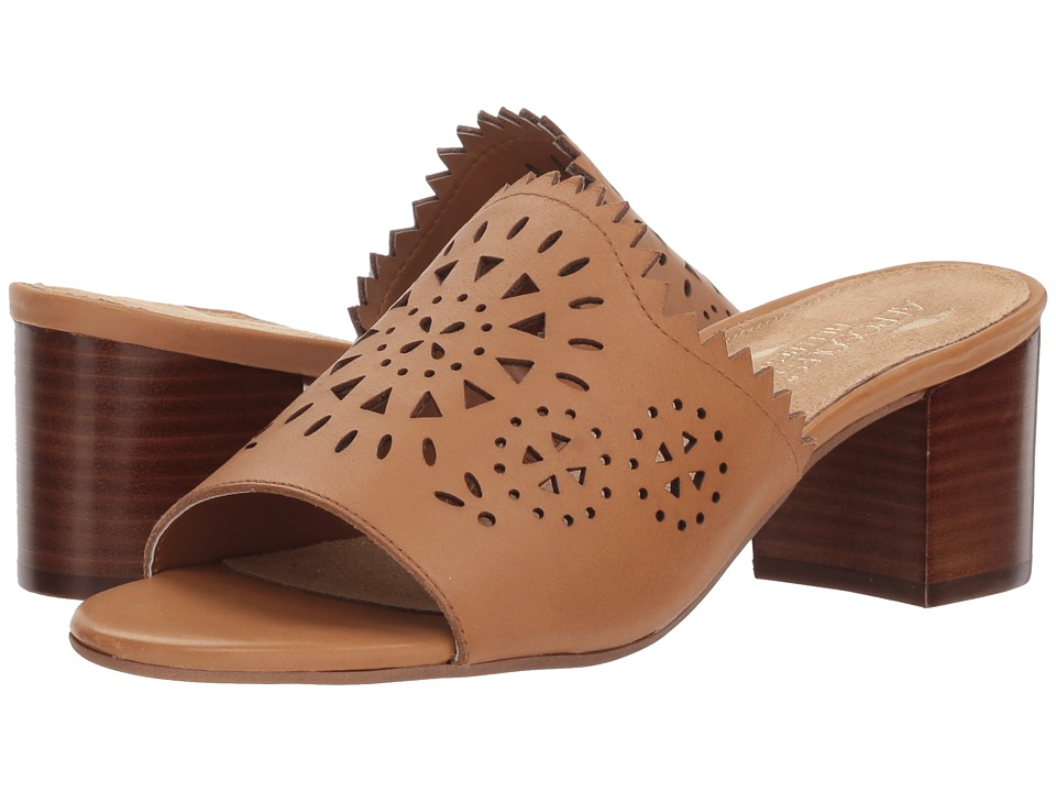 Vintage Sandal History: Retro 1920s to 1970s Sandals Aerosoles Midsummer Tan Leather Womens  Shoes $79.00 AT vintagedancer.com