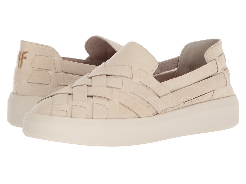 Frye Brea Huarache Slip-On (White) Slip-On Shoes