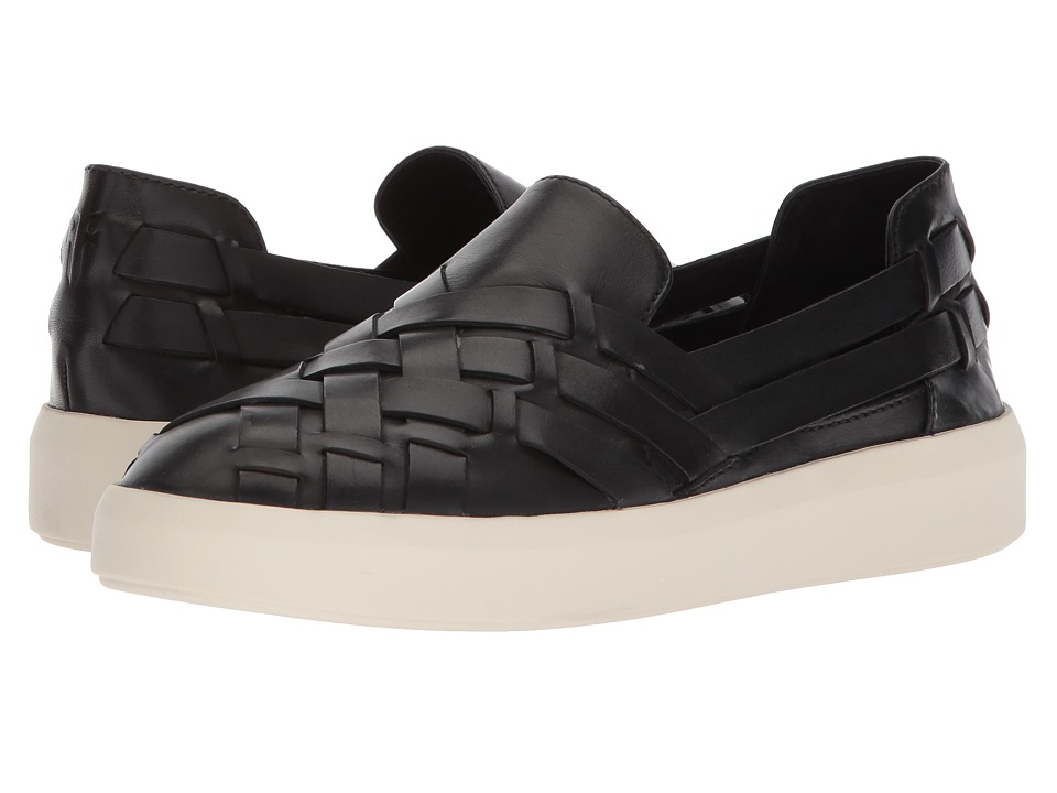 Frye Brea Huarache Slip-On (Black) Slip-On Shoes
