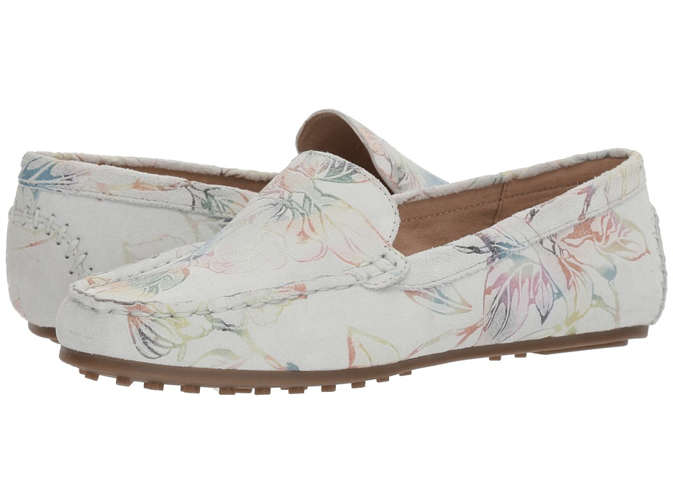 Aerosoles Over Drive (White Floral) Slip-On Shoes