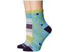 Darn Tough Vermont Dot and Stripe Crew Light Socks (Toddler/Little Kid/Big Kid)