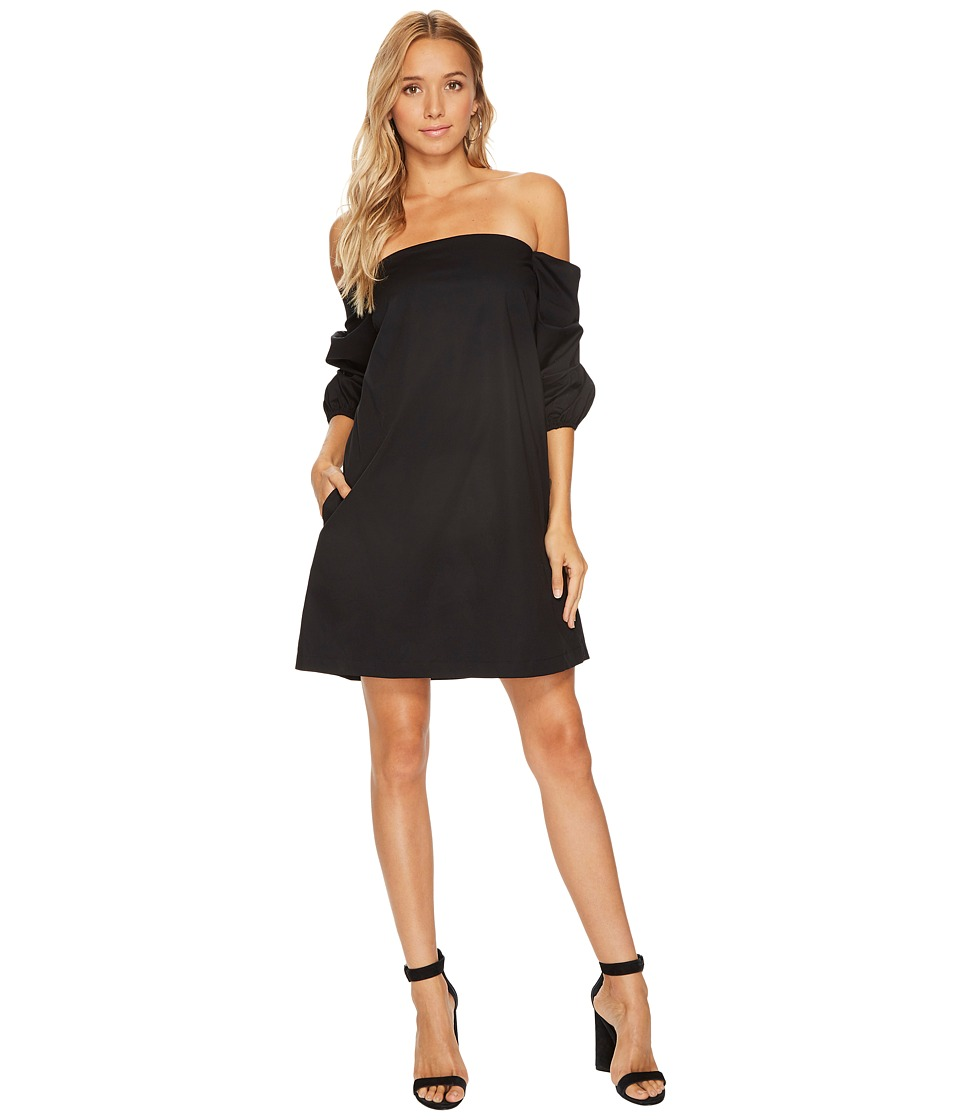 1.STATE 1.STATE - Off Shoulder Voluminous Sleeve Dress