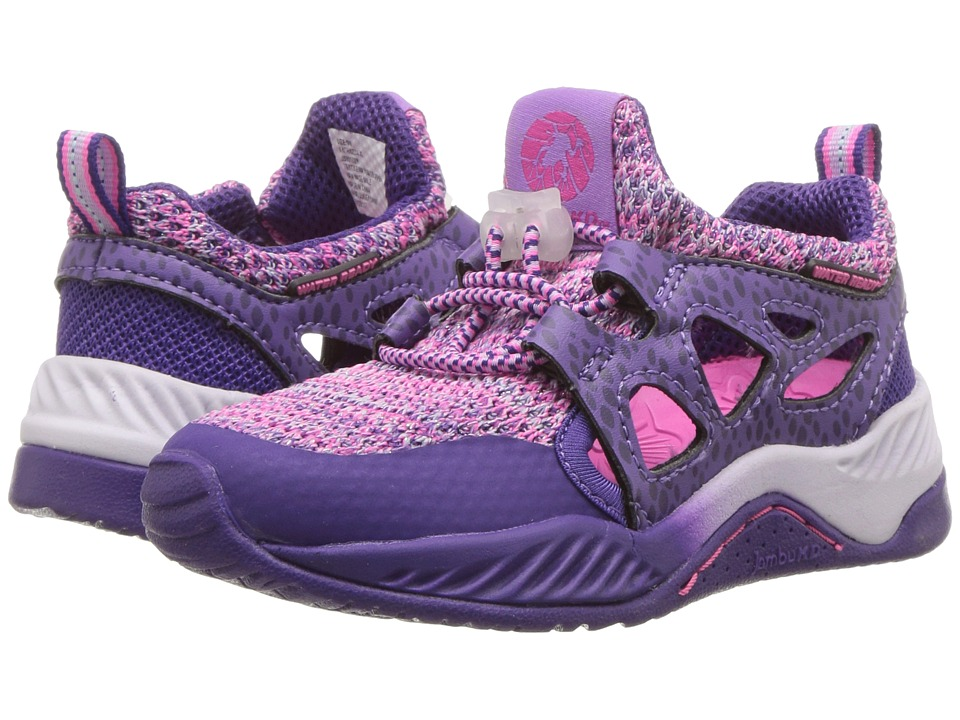 Jambu Kids - Anthozoa (Toddler/Little Kid/Big Kid) (Purple) Girls Shoes