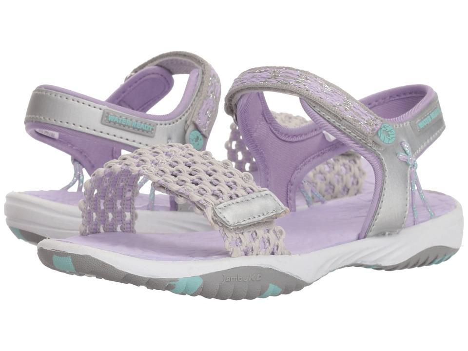 Jambu Kids - Mohi (Toddler/Little Kid/Big Kid) (Silver) Girls Shoes