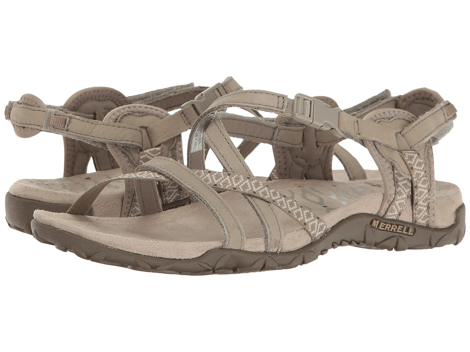 Merrell - Terran Lattice II (Taupe) Womens Shoes