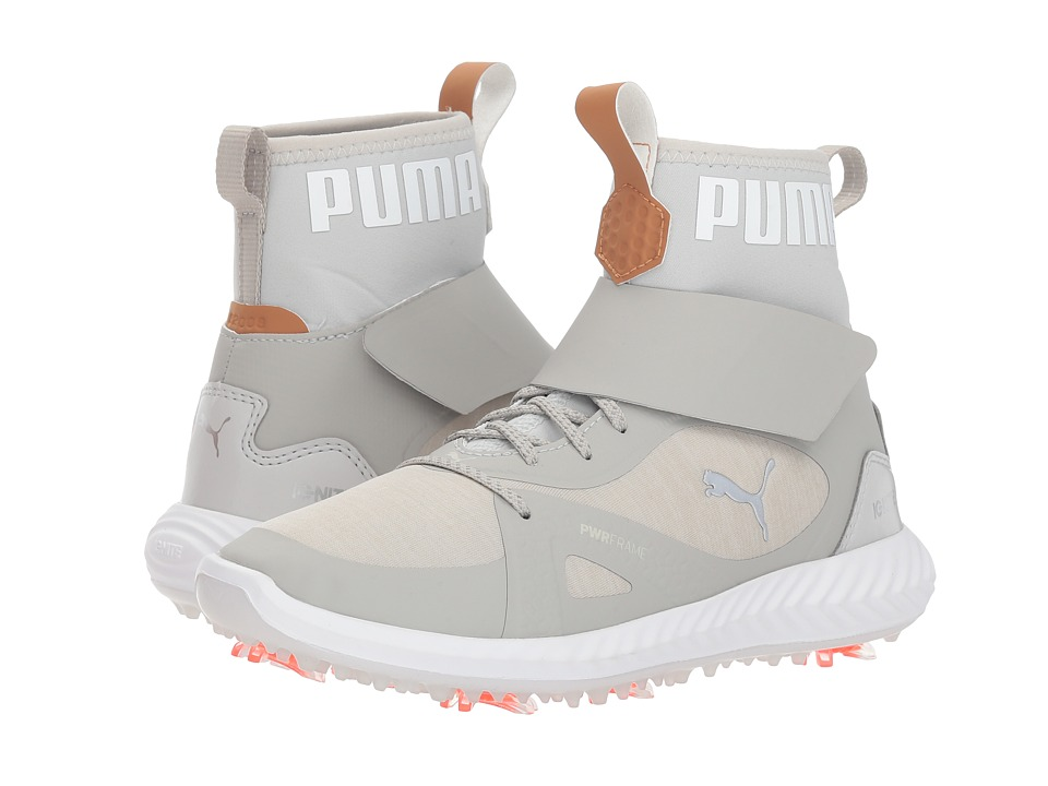 PUMA Golf Ignite Power Adapt Hi-Top Jr (Little Kid/Big Kid) (Gray Violet/Puma Silver) Men