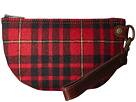 Pendleton Half Moon Clutch