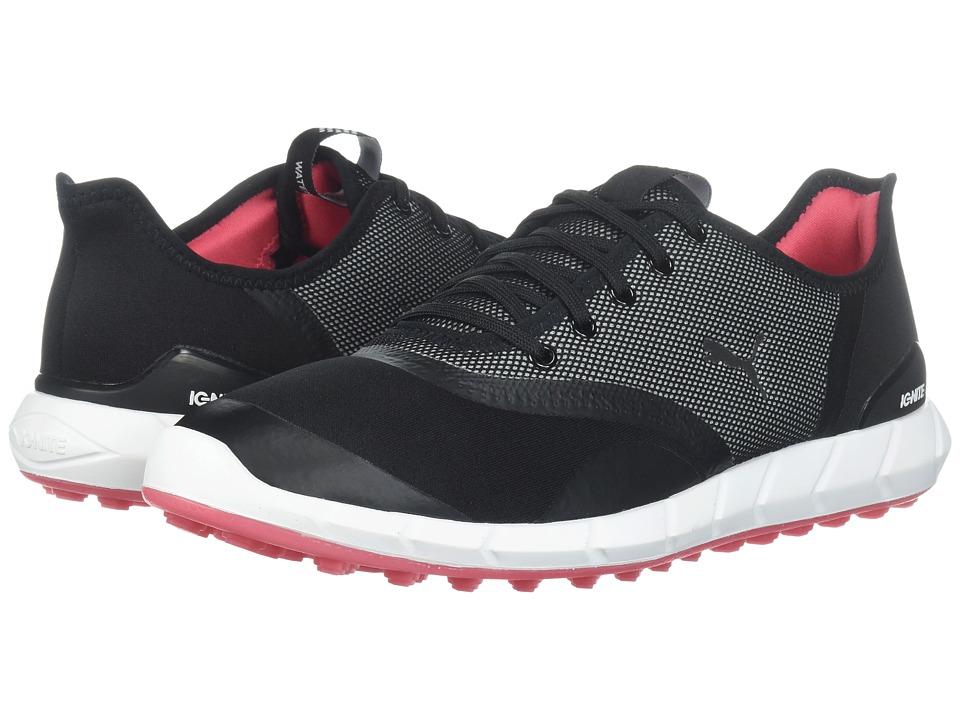 PUMA Golf Ignite Statement Low (Puma Black/Puma White) Women's Golf Shoes