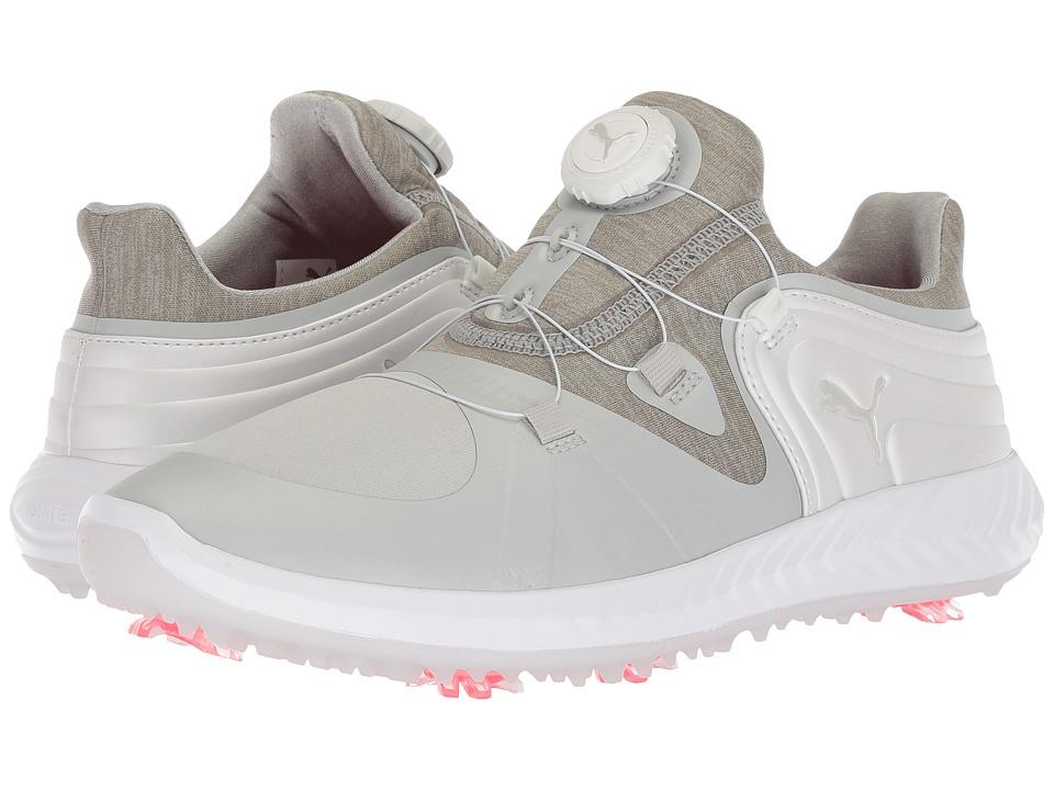 PUMA Golf Ignite Blaze Sport Disc (Gray Violet/Puma White) Women's Golf Shoes