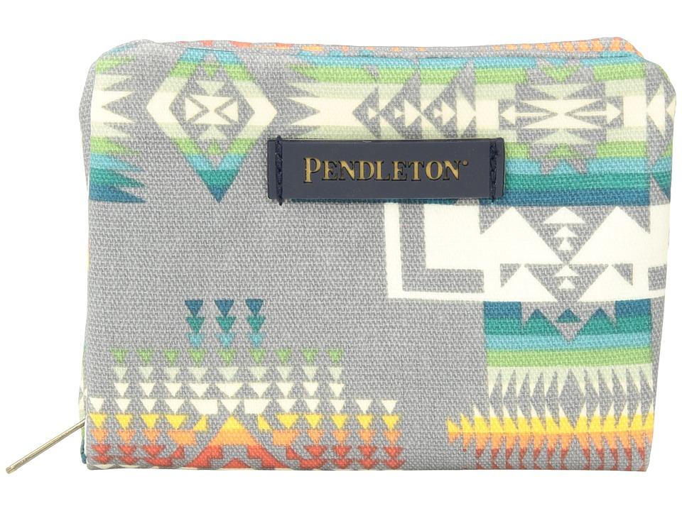 Pendleton - Canopy Canvas Accordion Wallet (Chief Joseph Grey) Wallet Handbags
