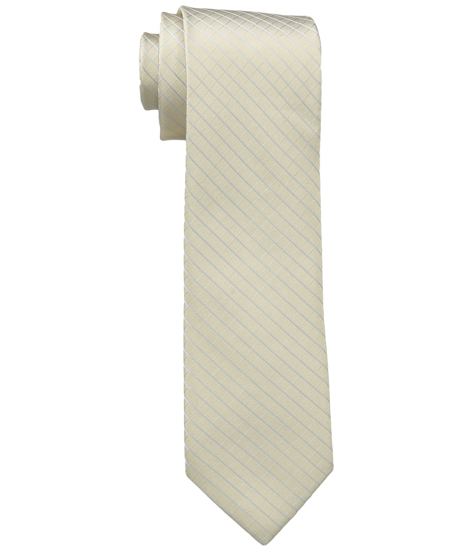 Calvin Klein Etched Windowpane A (Taupe) Ties