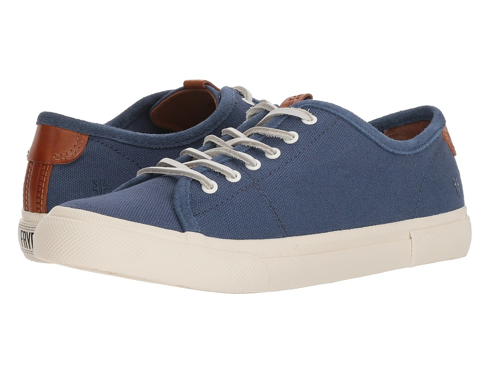 Frye Maya Canvas Low Lace (Denim)