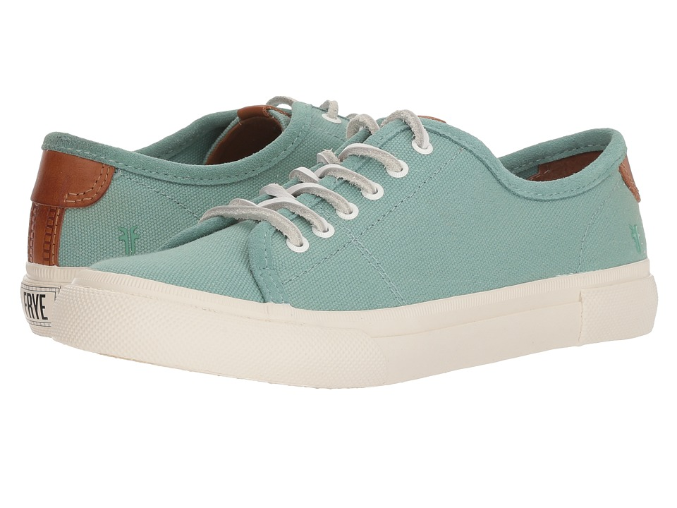 Frye Maya Canvas Low Lace (Mint)