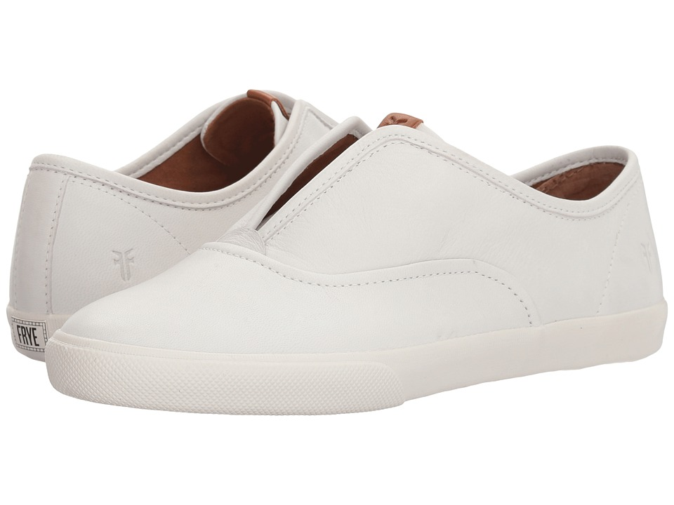 Frye Maya CVO Slip-On (White) Slip-On Shoes