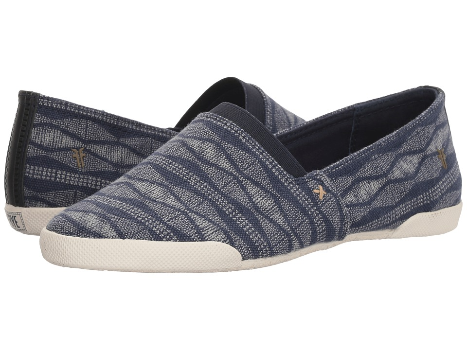 Frye Melanie Canvas Slip-On (Navy) Slip-On Shoes