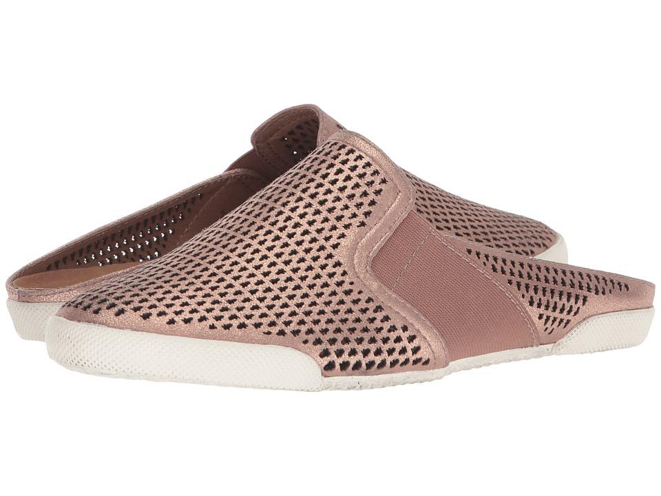Frye - Melanie Perf Mule (Rose Gold) Womens Slip on  Shoes