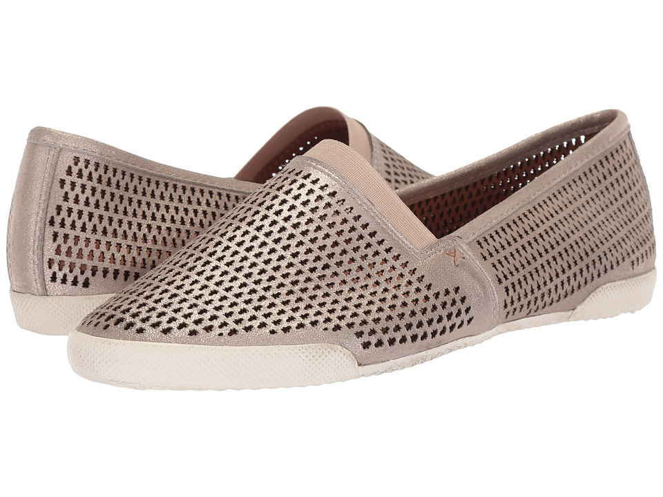 Frye Melanie Perf Slip-On (Silver) Slip-On Shoes