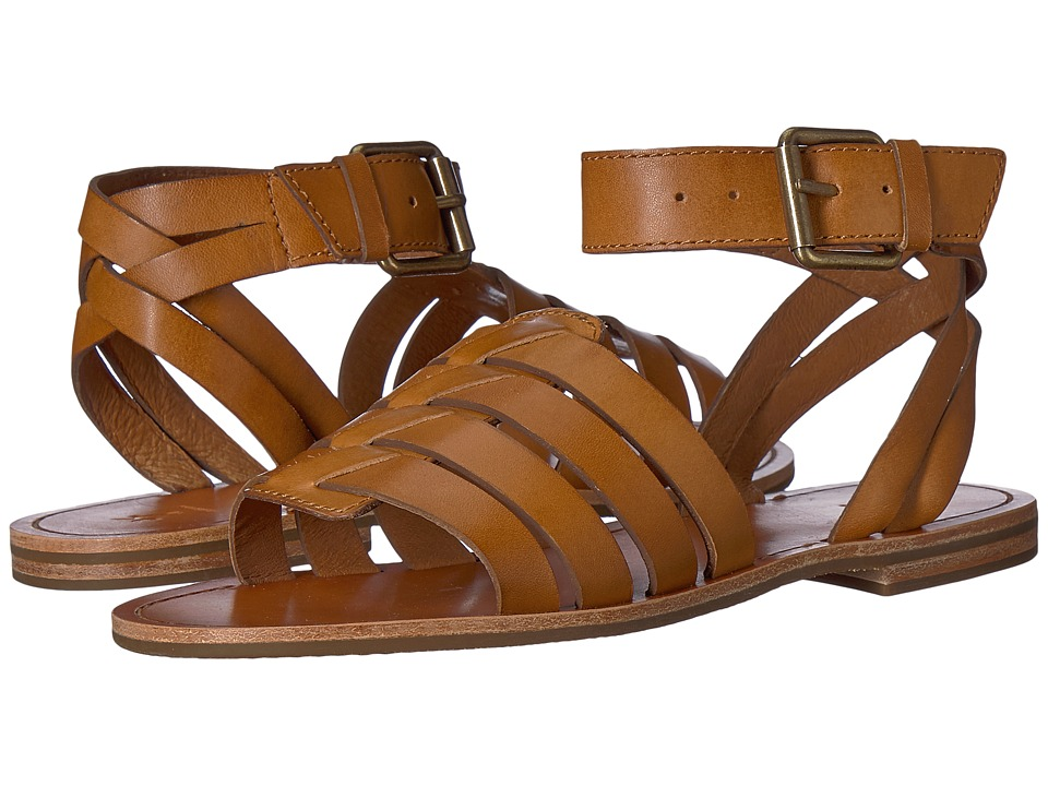 Frye Riley Huarache Two-Piece (Tan) Sandals