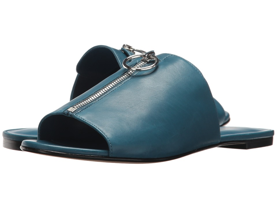 Via Spiga - Hope (Peacock Leather) Womens Slide Shoes