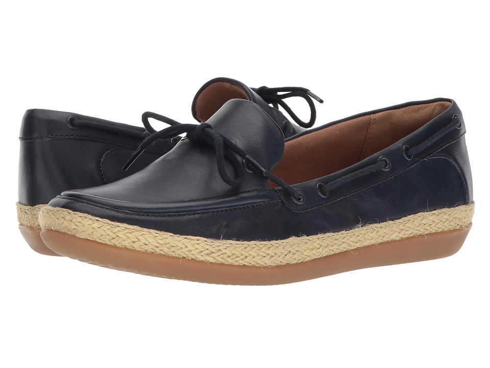 Clarks - Danelly Bodie (Navy Leather) Womens Sandals