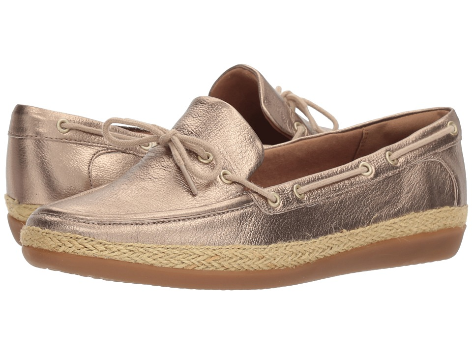 Clarks - Danelly Bodie (Gold Metalic Leather) Women's Sandals