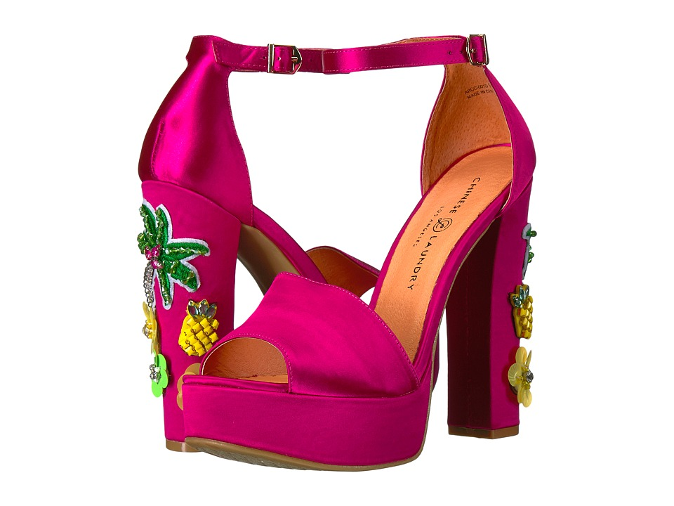 Chinese Laundry Aloha (Hot Pink) High Heels