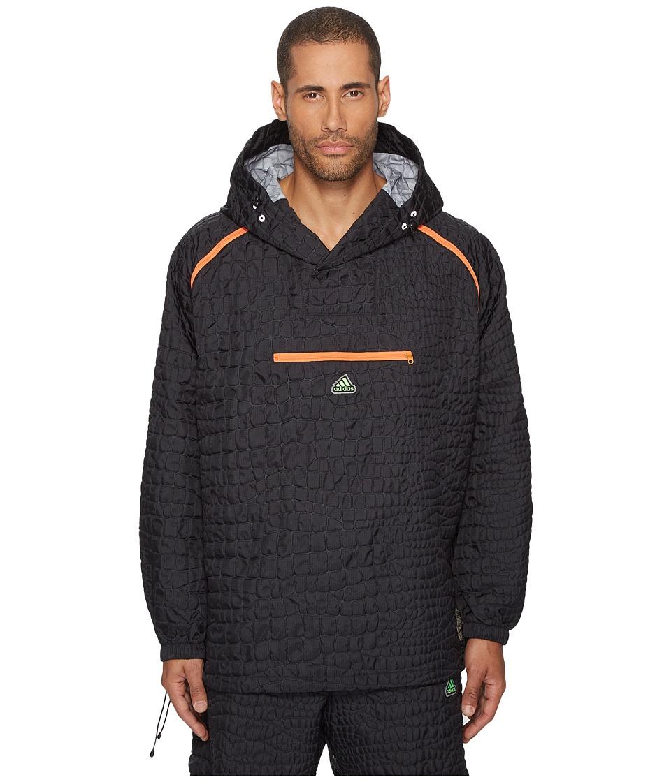 adidas x Kolor - Emboss Jacket (Black) Men's Coat