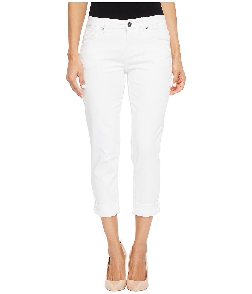 Jag Jeans Petite - Petite Carter Girlfriend Jeans (White) Womens Jeans