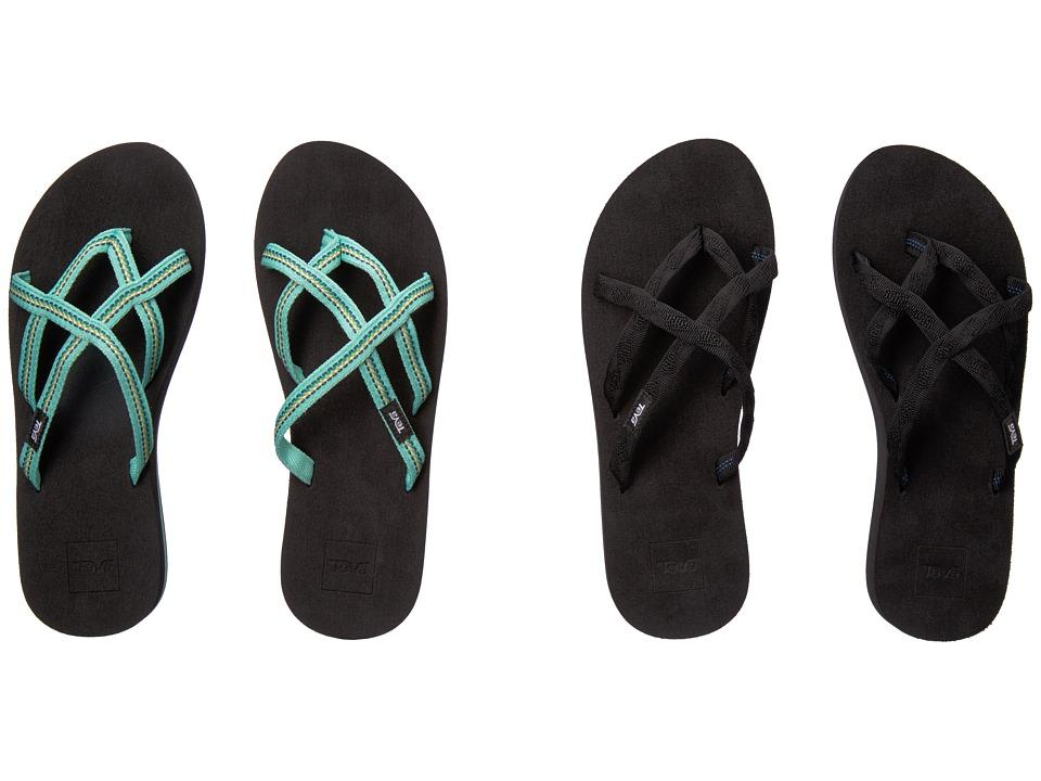 Teva Olowahu 2-Pack (Mbob/Lindi Seaglass) Women's Sandals