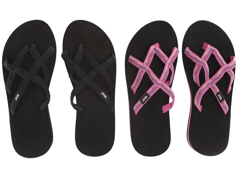 Teva Olowahu 2-Pack (Mbob/Vida Raspberry) Women's Sandals