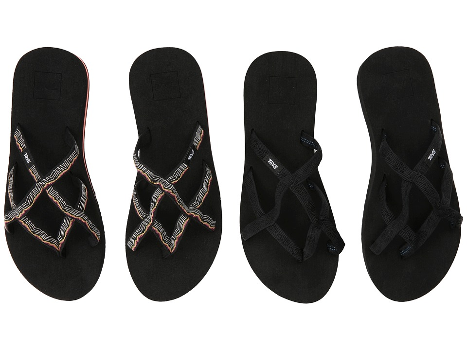 Teva Olowahu 2-Pack (Mbob/Vida Black) Sandals