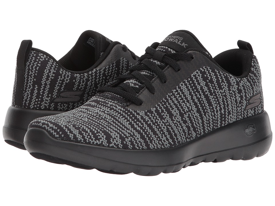 SKECHERS Performance - GOwalk Joy - 15603 (Black/Gray) Womens  Shoes