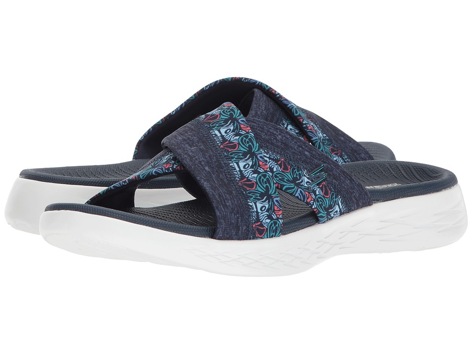 SKECHERS Performance On-The-Go 600 - Monarch (Navy) Sandals