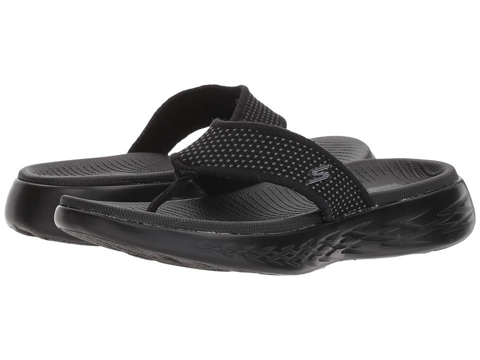 SKECHERS Performance - On-The-Go 600 - 15300 (Black) Women's Sandals