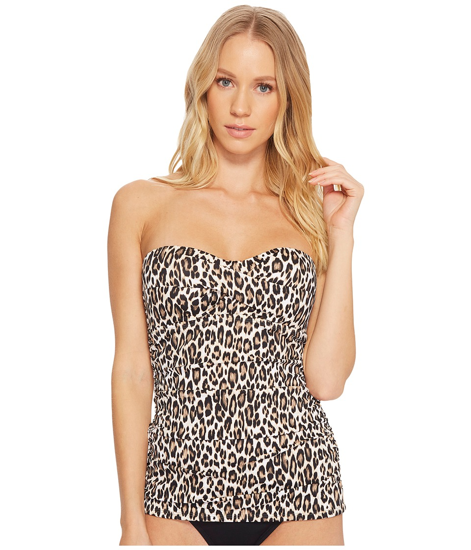 Tommy Bahama Cat's Meow Twist Front Bandini (Handle Wood)