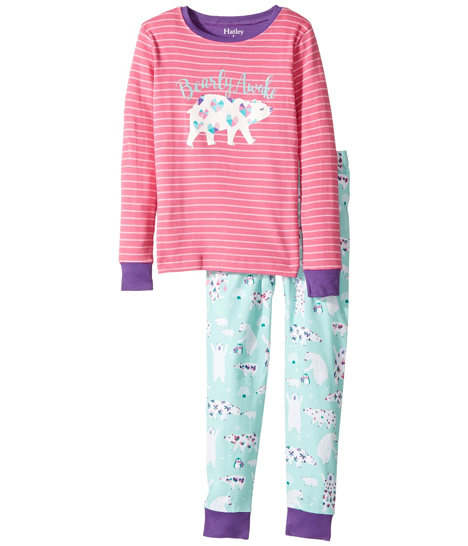 Hatley Kids - Arctic Party Bearly Awake PJ Set (Toddler/L...