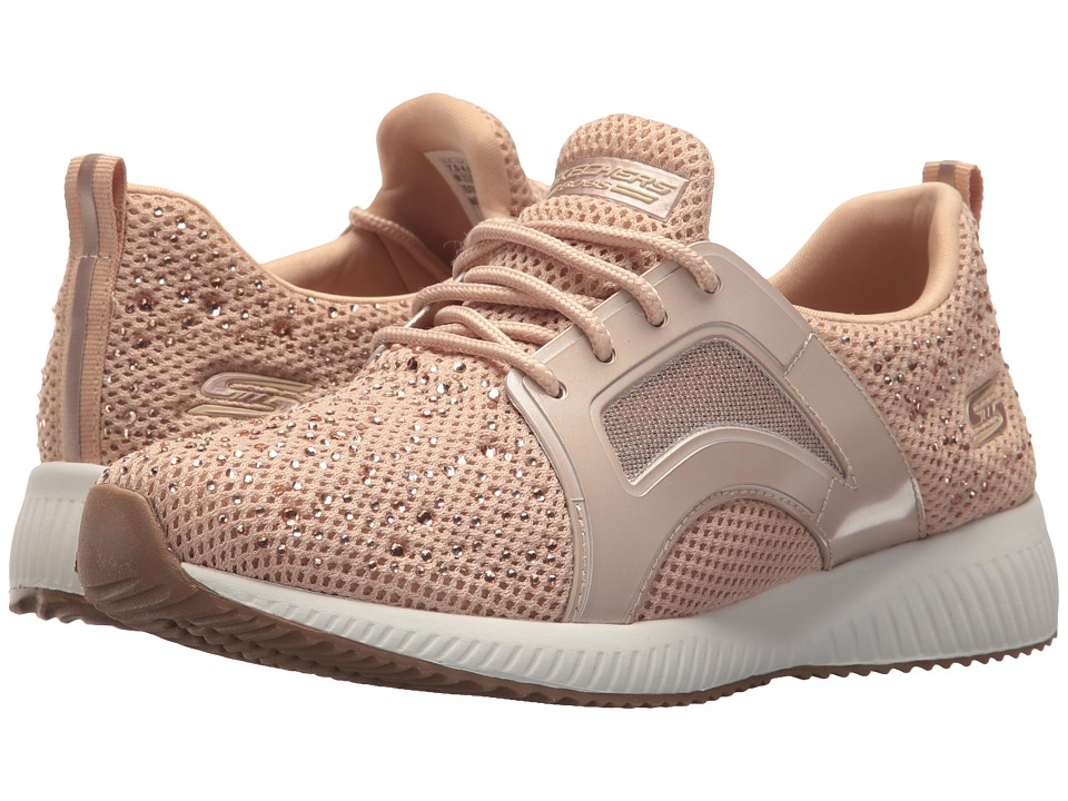 BOBS from SKECHERS Squad Star Chase (Rose Gold) Women