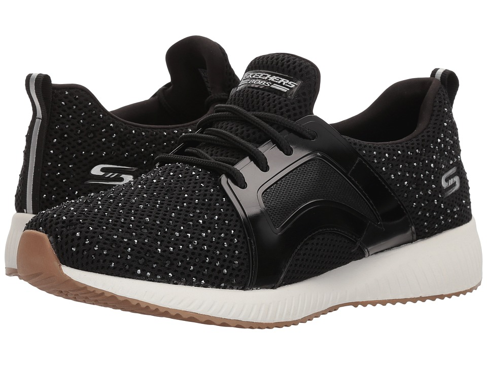 BOBS from SKECHERS Squad Star Chase (Black) Women