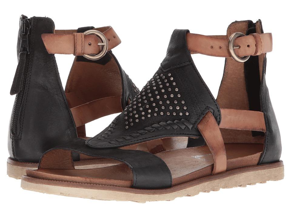 Miz Mooz Tessa (Black) Sandals