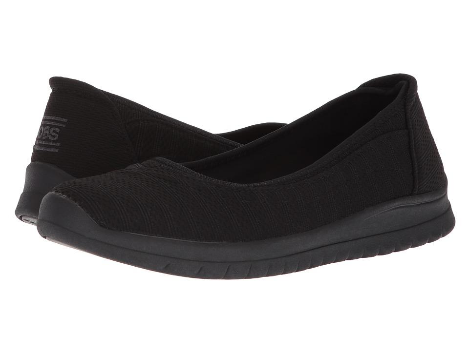 BOBS from SKECHERS Pureflex 3 - Catch Em (Black/Black) Women's Shoes