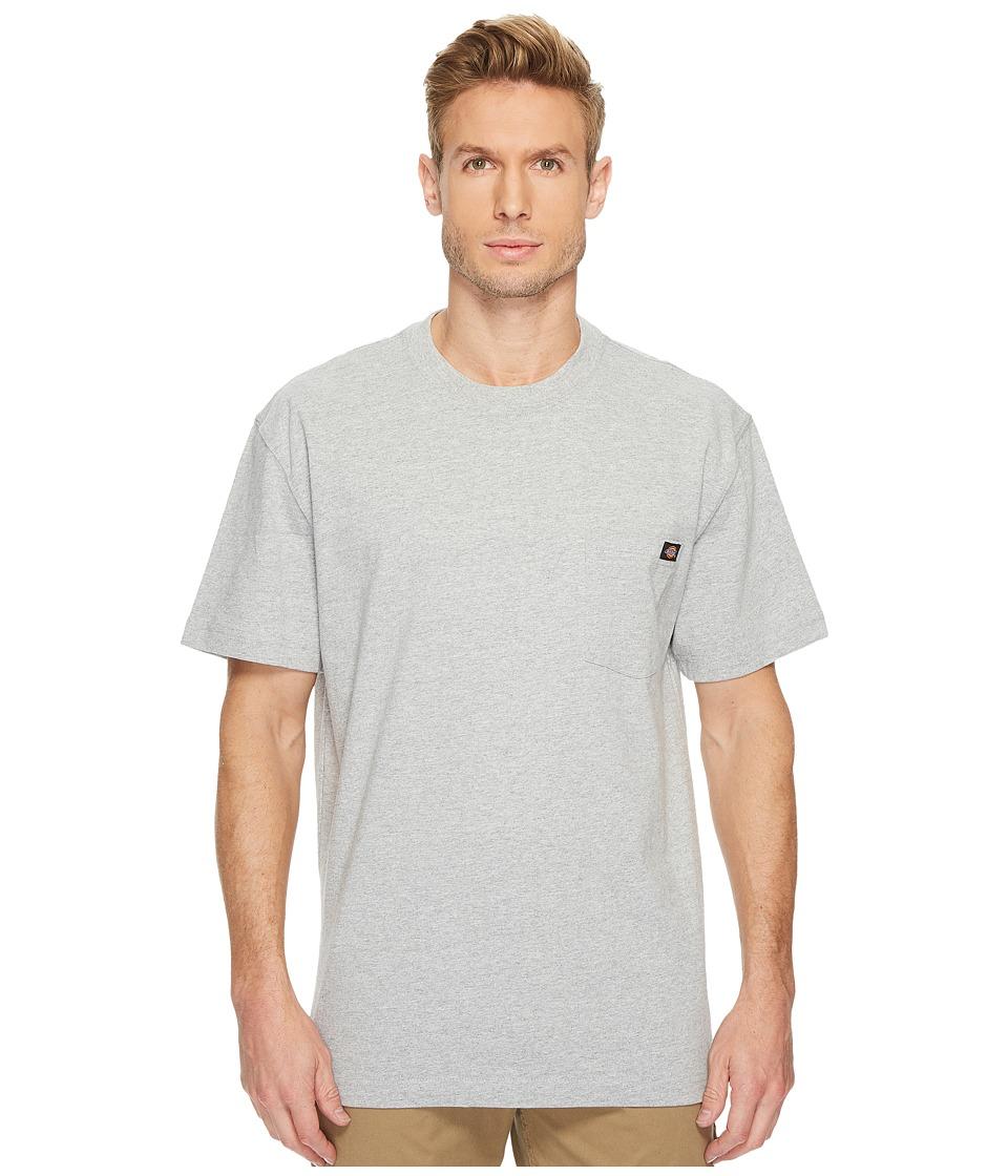 Dickies - Heavyweight Crew Neck Tee (Heather Gray) Mens T Shirt
