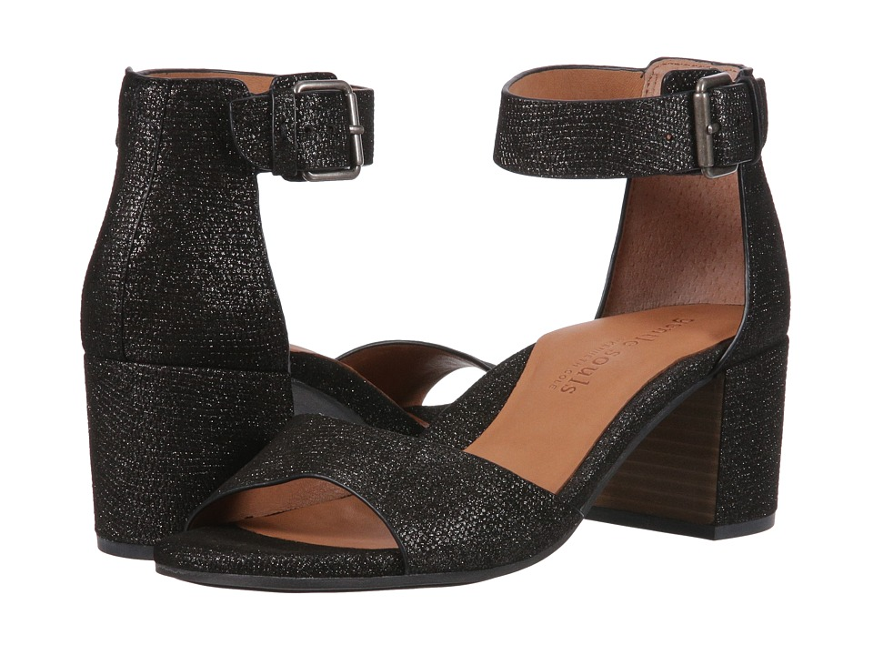 Gentle Souls - Christa (Embossed Black) Women's  Shoes